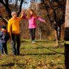 Gibbon-slackline-Classic-Line-X13-kids-walking-on-hand-Australia