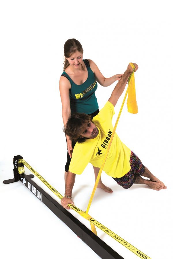 Gibbon-slackline-indoor-physio-therapy-australia-core-muscles