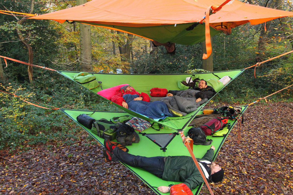 How good it is to have Camping Hammocks
