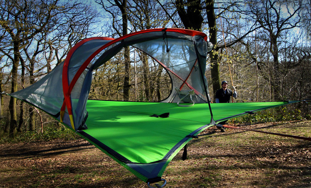 slackline-tree-tent-all-zip-open-australia & Slackline Connect Tree Tent - Slackline Shop Australia