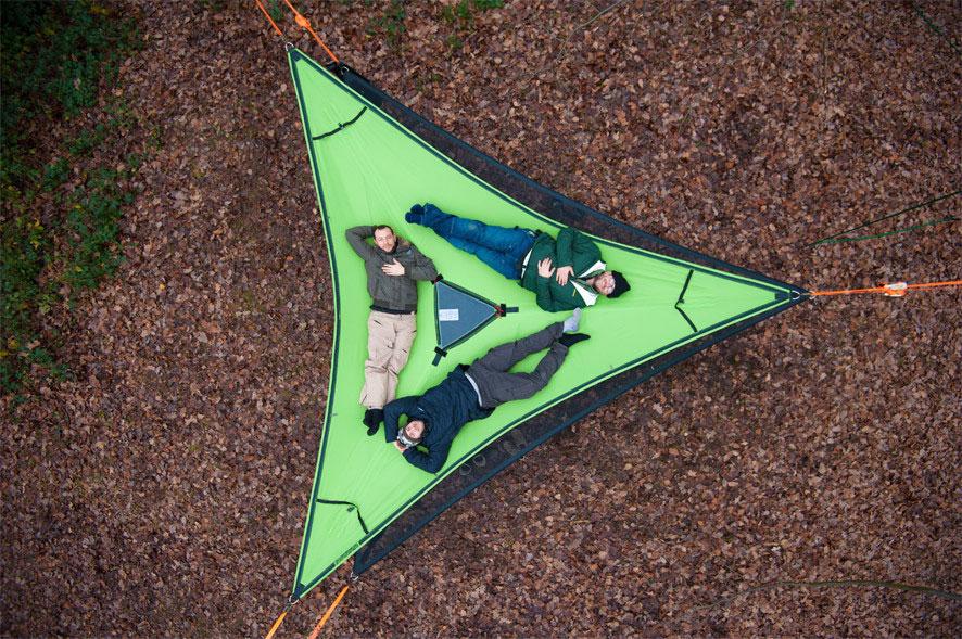 tentsile-hammock-tree-tent-3-person & Triple Slackline Hammock - Slackline Shop Australia