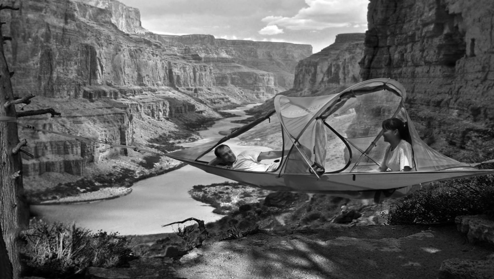 tentsile hammock tree tent camping every where amazing  tentsile hammock tree tent camping every where amazing couple bw      rh   slacklineshop   au