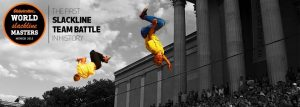 Slackline World Cup Munich Globetrotter 2015
