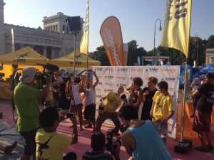 Slackline World Cup Munich Winner 2015